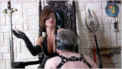 Queen Ella punishes weak subject